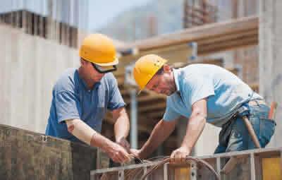Construções convencionais comerciais e residenciais